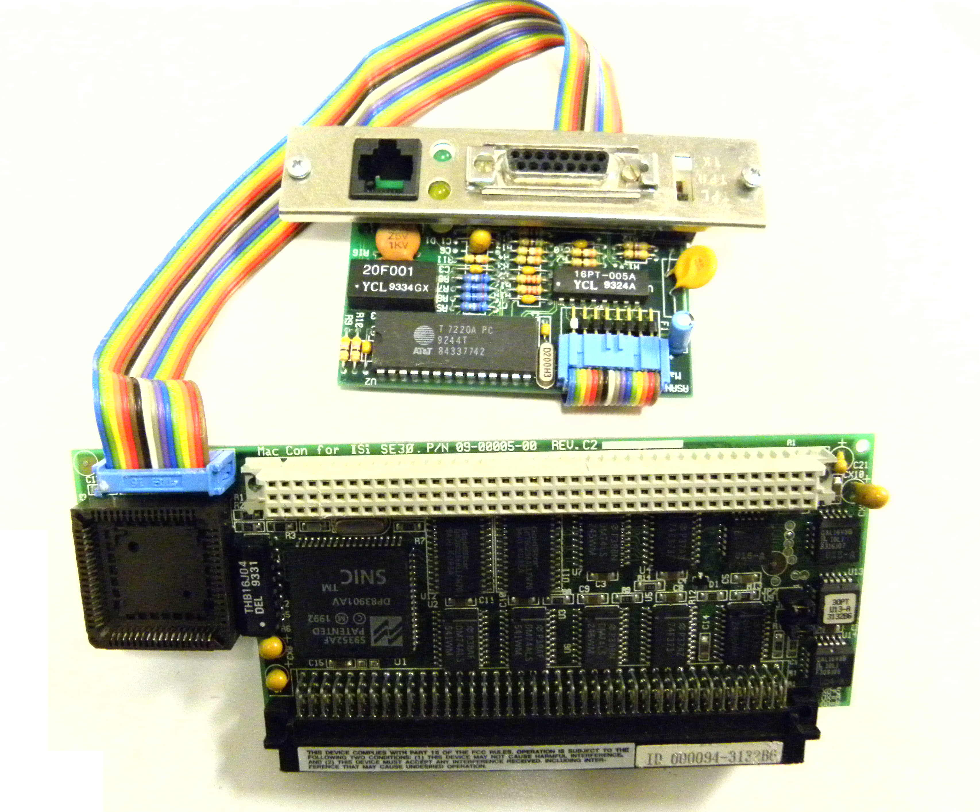 PCI bus networking cards